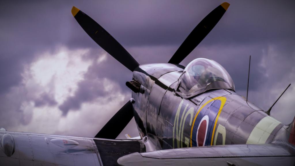 Supermarine Spitfire WW2 airplane