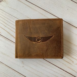 light brown luxury leather wallet
